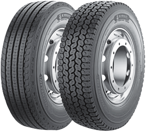 Грузовая шина Michelin 225/75 R17.5  X MULTI D  TL 129/127M
