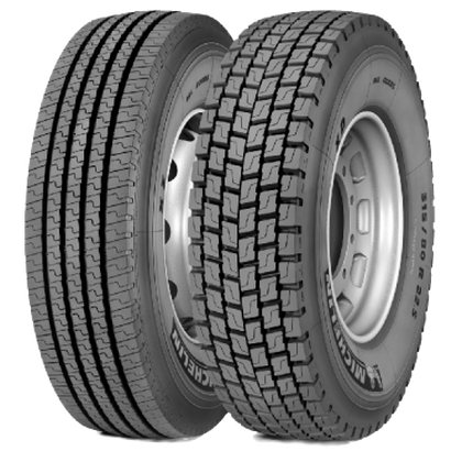 Грузовая шина Michelin 315/80 R22.5  XZ ALL ROADS  TL 156/150L